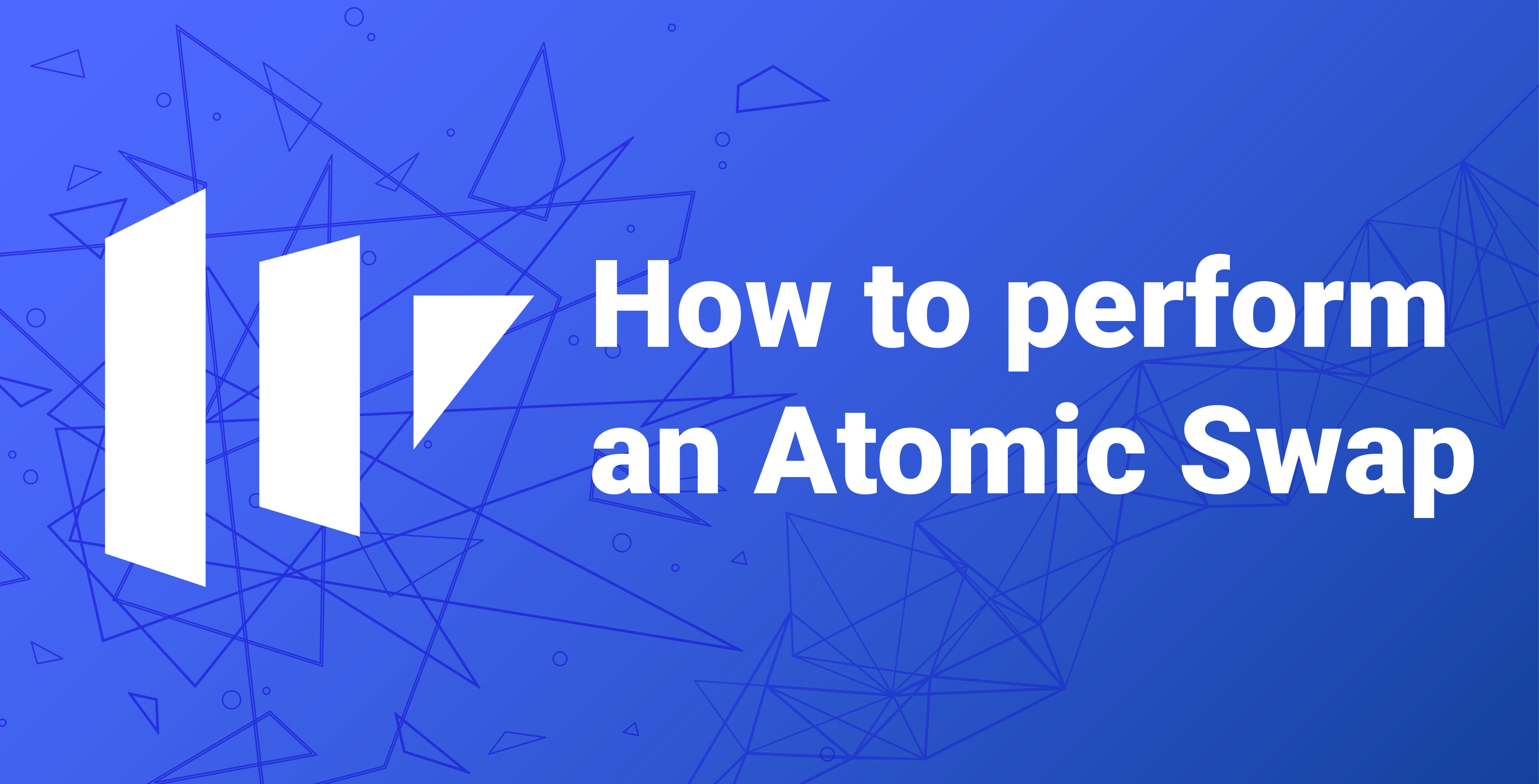 How to perform an Atomic Swap