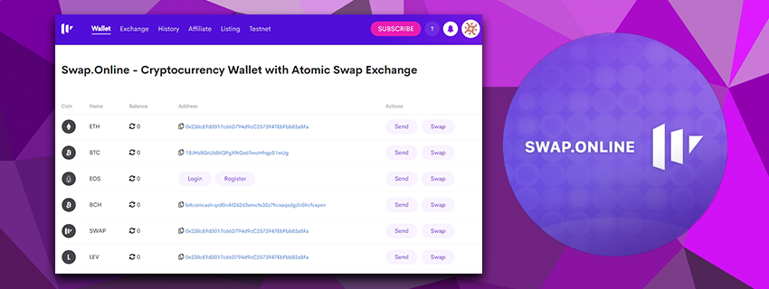 atomic swap bitcoin wallet